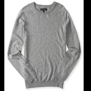 NEW Aeropostale Men's Sweater Crewneck Gray SIZE s